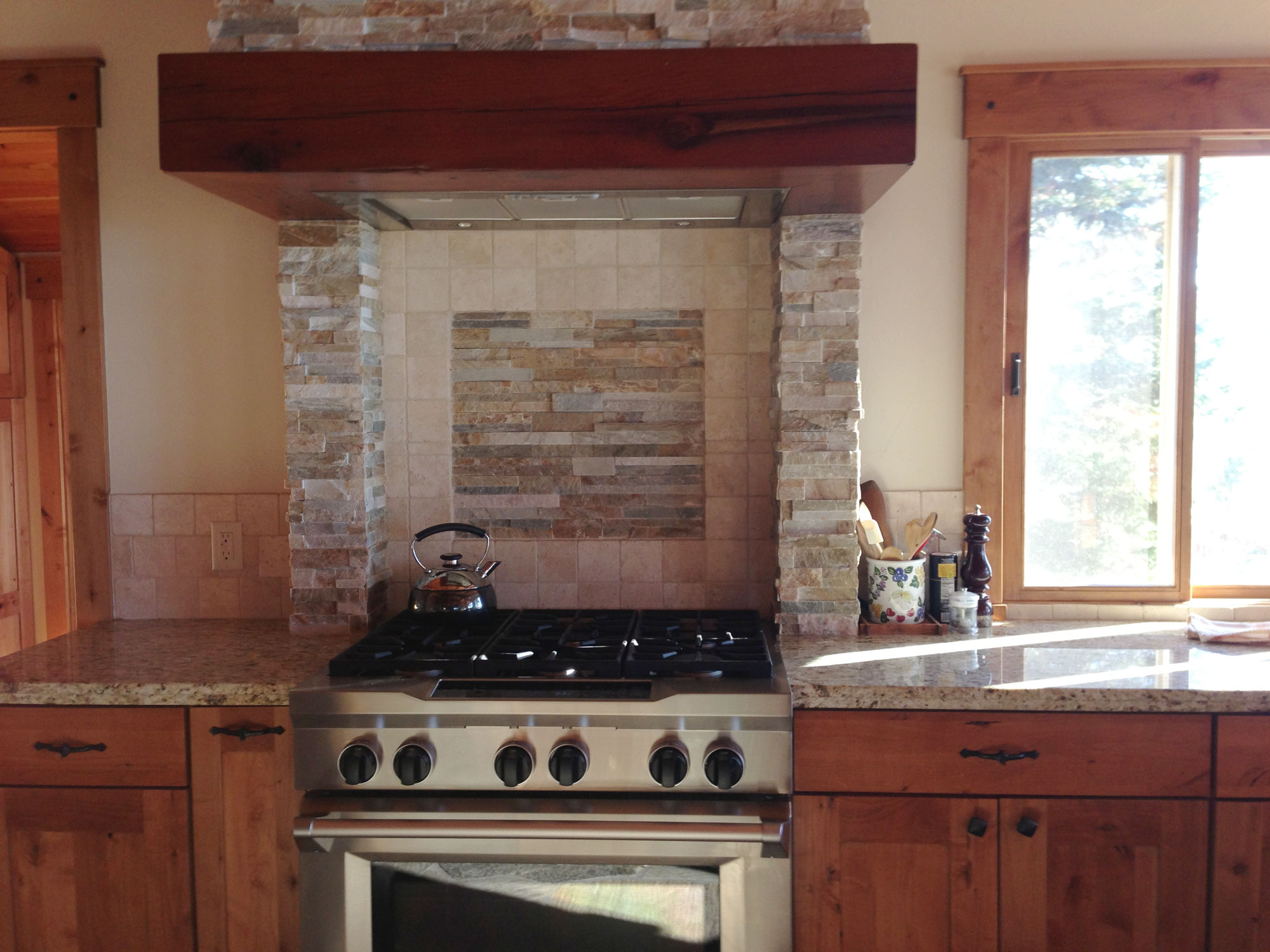 100 rough stone backsplash older and wisor painting